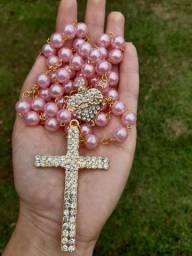 Terço de Pérolas sagrado coração de Jesus