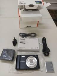 Maquina Fotográfica Nova - Sony W800 Cyber Shot- na Caixa - Sem uso - Completa