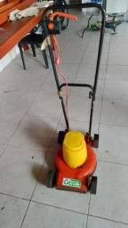 Máquina de cortar grama elétrica
