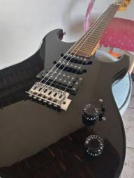 Guitarra Washburn superstrato preta(aceito troca em Xiaomi ou algo do meu interesse)
