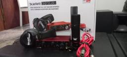 Kit scarlett focusrite 2i2 Studio