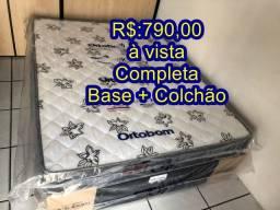 Cama Box D33 Completa Ortobom SJ