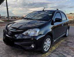 Toyota Etios Sedan XLS. 2018 Automático Completo Financia