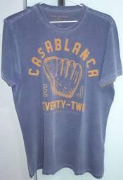 Camisa T-shirt Manga Curta - Tamanho: P
