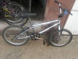 Bike aro 20 cromada com garantia passo cartão