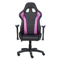 Cadeira Cooler Master Caliber R1 Preto/Roxo - CMI-GCR1-2018 - Loja Fgtec Informática
