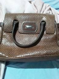 Vendo bolsa arezzo original de couro