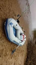 Bote inflável SEAHAWK II - o melhor bote para pesca e expedição