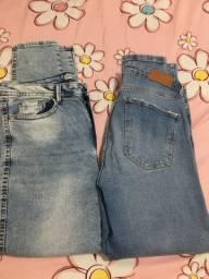 Jeans fem 44/46