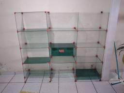 Balcão de vidro novove