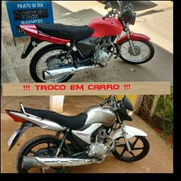 Troco 2 motos por carro