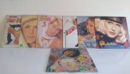 Kit disco de vinil LP Xuxa + brinde