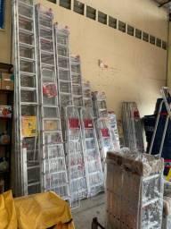 Escadas de alumínio e fibra NOVAS