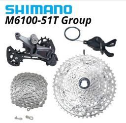 Grupo shimano deore M6001 1x12 velocidades