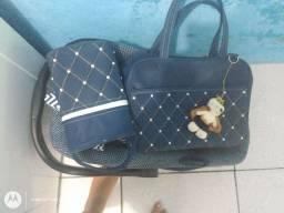 Bebê conforto mais bolsas