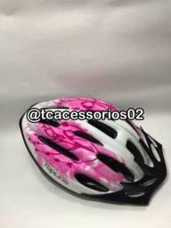 Capacete ciclismo promocao 4 cores disponíveis.