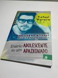 Livro Diário de um adolescente apaixonado (rafael moreira)