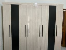 Guarda roupas casal 8 portas