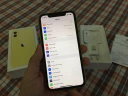 IPhone 11 128GB Nota fiscal Garantia Apple 2021 acessórios lacrados sem uso