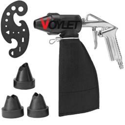Kit De Pistola Jato De Areia Ps-10 Voylet
