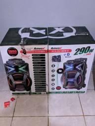 Caixa Amplificada 292W e 500W