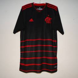 Camisa flamengo Adidas     2020/21 preta e vermelha