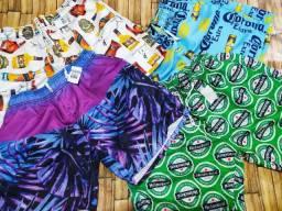 Bermuda mauricinho moda praia masculina