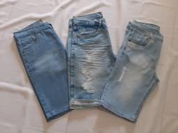 3 bermuda masculina jeans