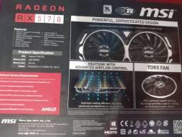 Rx 570 amor 4gb MSi