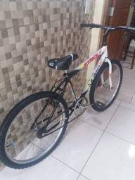 Bicicleta aro 24 sem marchas revisada