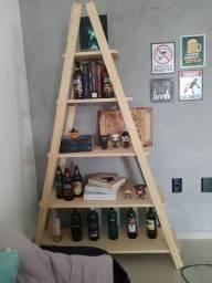 Estante NOVA de madeira