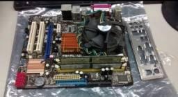 Kit upgrade placa mae+processador+memoria