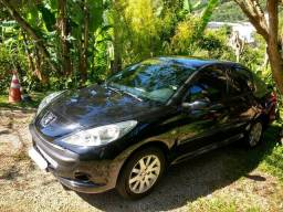 Peugeot 207 Sedan Passion XS 1.6 Flex 16V 4p Aut Preto