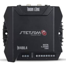 Módulo Amplificador Stetsom Iron Line Ir 400.4 400w Rms 4 Canais