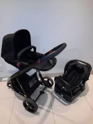 Carrinho bebê - Safety First - bebê conforto - base veicular - Moisés