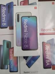 Xiaomi // Redmi Note 8 64 GB // Novo lacrado com garantia e entrega imediata