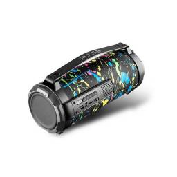 CAIXA De Som Bluetooth Pulse SP361 Paint Blast Bazooka 80W Preta  (