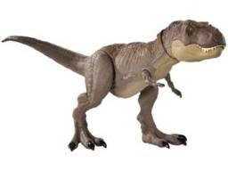 Dinossauro de Brinquedo Jurassic World - Trex Mordida Feroz