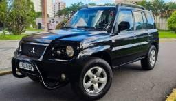 PAJERO TR4 4X4 AUTOMÁTICA COM GNV 5° GERAÇÃO