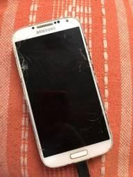 Celular Samsung Galaxy S4 Gt-i9505 Para Retirada De Peças