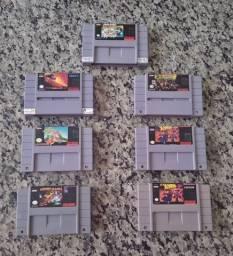 Fitas de Super Nintendo