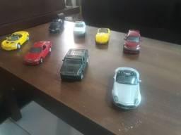 Coleção miniaturas carrinhos