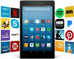 Kindle Fire Colorido Hd 8 Tablet Com Alexa Tela Hd C/ 16 Gb