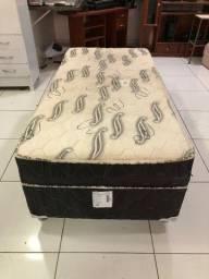 Cama Box de Solteiro de Mola - Entrega Grátis