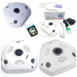 Camera de Seguranca Wifi olho de peixe 360 Graus