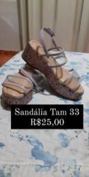 Sandália Anabela Tam 33