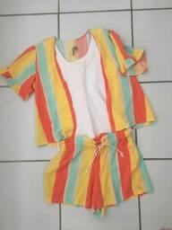 Conjuntos de roupa para menina