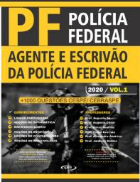 Apostila PF Agente e Escrivão (Policia Federal) - kit completo com 2 vols impressa 2020