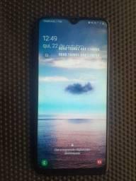 Samsung A20 S na caixa