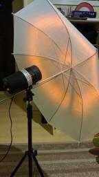 Flashes fotográficos para estúdio